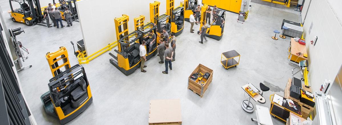 Prodaja polovnih viličara Jungheinrich Lift truck Beograd Srbija