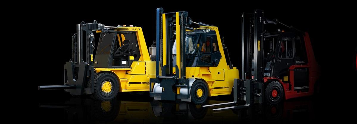 Prodaja polovnih viličara MORA Lift truck Beograd Srbija